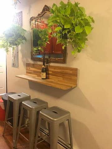Plant filled Private Room in Bushwick
