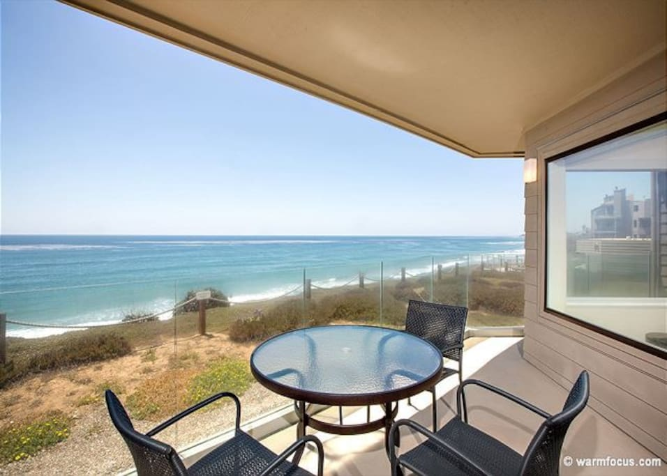 Experience Gorgeous Views & Ocean Breeze On The Front Patio