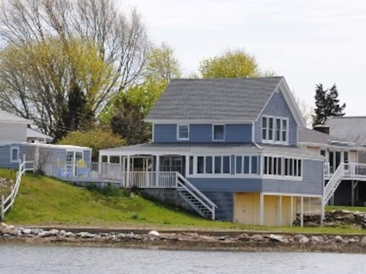 Water front home on the Cove