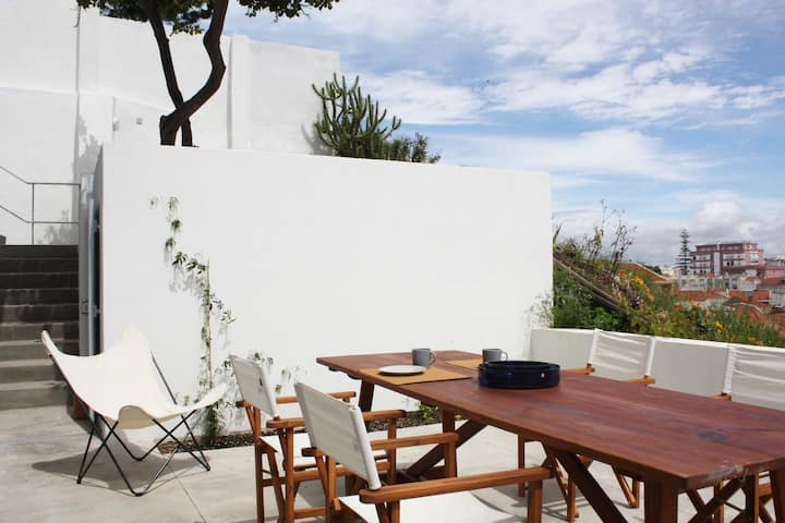 Casa Lagarto -  terrace with panoramic view