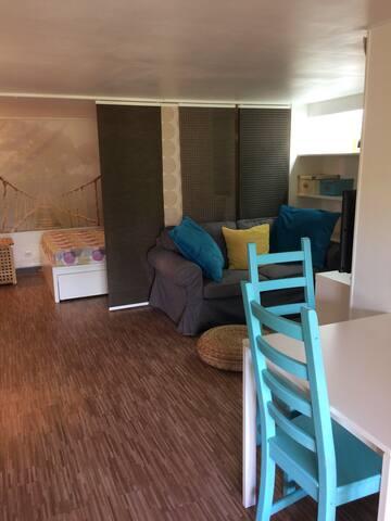 Studio indépendant aux portes de Montpellier Nord