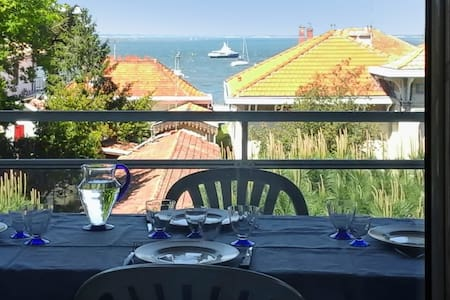 Appartement confortable - vue mer - Arcachon