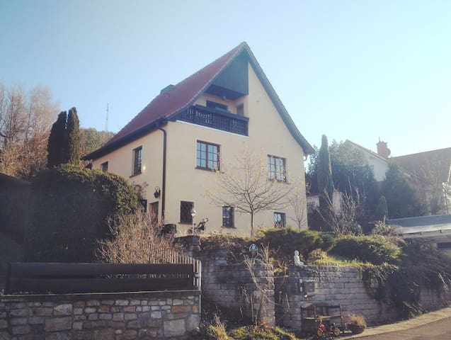 Naturnaher Familien-Rückzugsort in Jena
