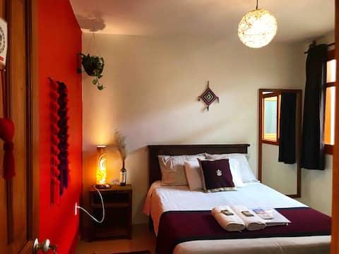 Casa Ohana:Eco home: private room,bright
