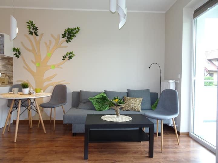 Sarni Stok - apartament z  miejscem parkingowym