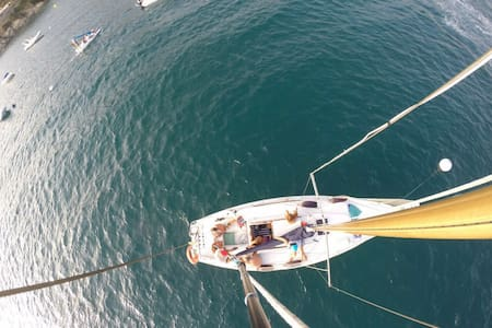 Velero para 2 en Formentera. Stay on board. - Formentera - Boot