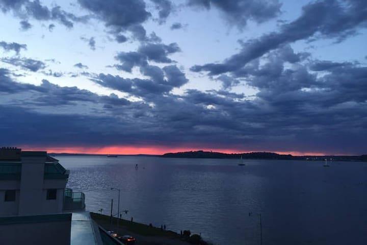 Seattle Alki Beach Condo w/ Private Skyline View - Seattle