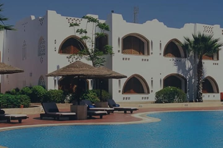 Luxury suite at Domina Coral Bay, Sharm el sheikh