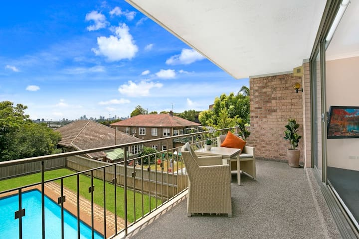Spacious comfort in top location - Waverley - Apartament