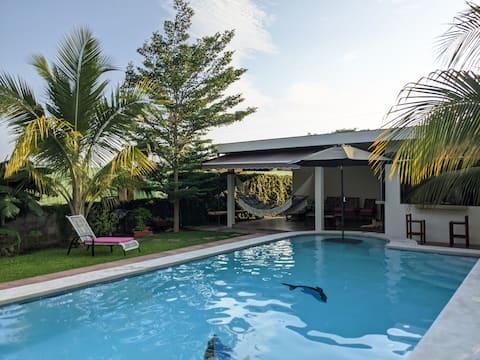 Cozy beach house in San Blas!