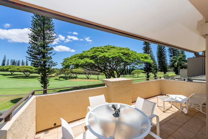 One bedroom golf villa right on Kapalua Golf Course
