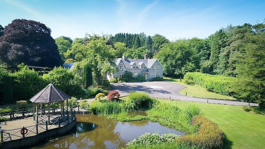 Widcombe Grange (main house only, for 14), pool and hot tub