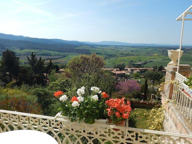 La casa con vista sulla Terra d'Etruria - Casale Marittimo - Apartment