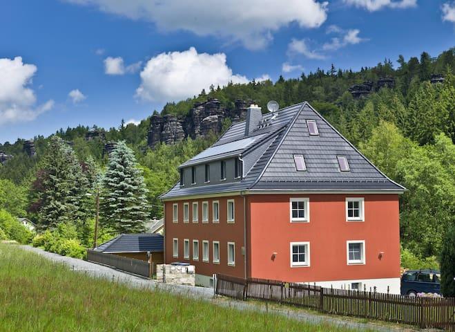 Felswelten | Erlebnis Sächsische Schweiz - Rosenthal-Bielatal - Casa de hóspedes