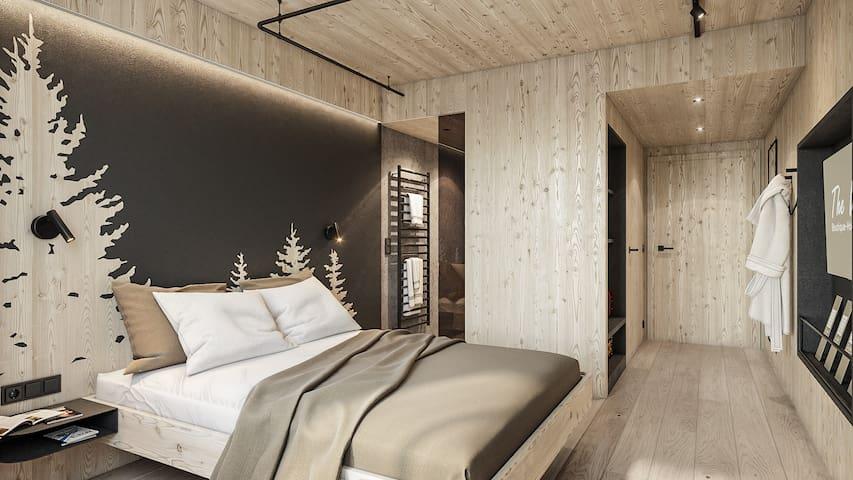 The Nest - Standard Einzelzimmer The Wood Hotel
