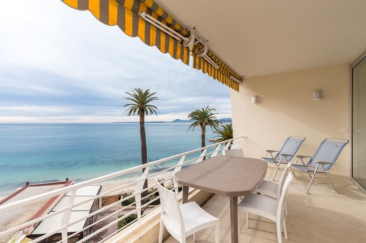 EDEN BEACH - Wonderful panoramic seaview - 2 rooms with large terrace