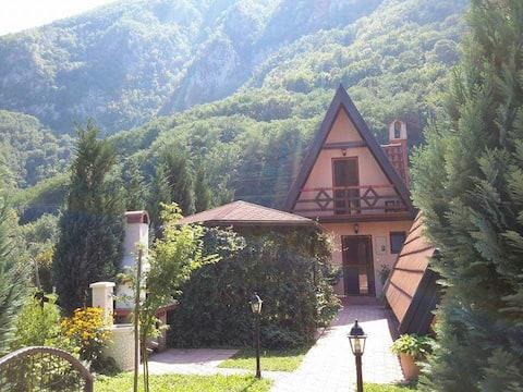 Perucac Tara Drina, Bungalow Viola,6 person