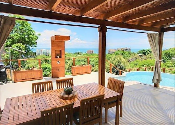 Luxury Villa W/ Tamarindo's Best Ocean Views!