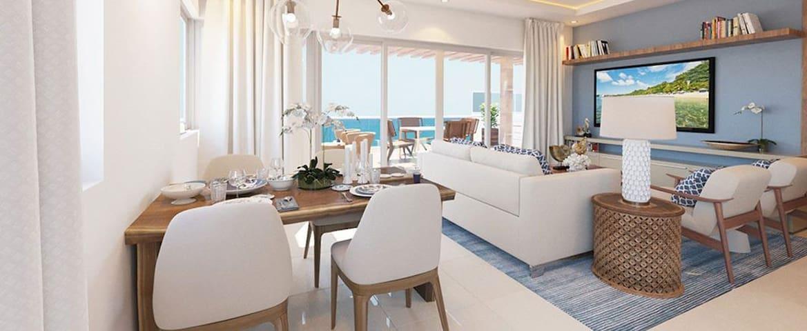CABARETE 3 BED  IMPERIAL OCEANFRONT!  VIP!!