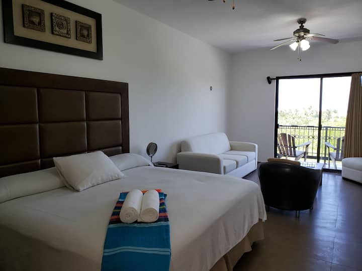 ★☼♥Neat & cozy spot at Isla Mujeres great top pool