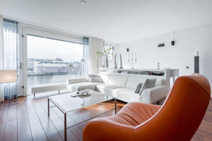 Appartement aan rivier De Zaan - Zaandam - Apartamento