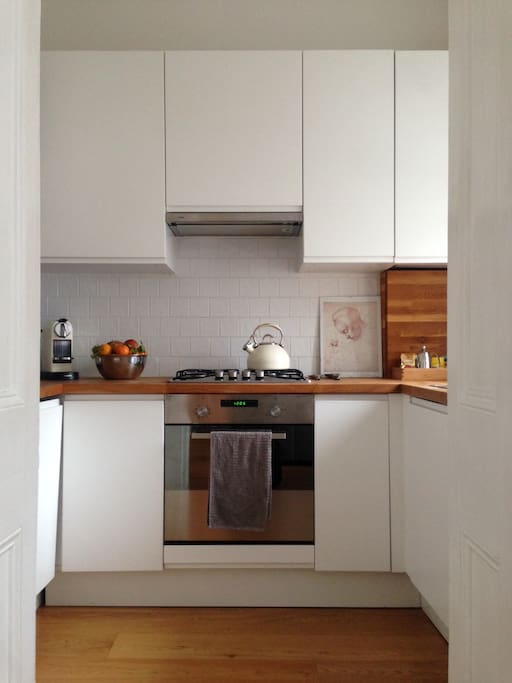 Brand new kitchen with all comfort appliances