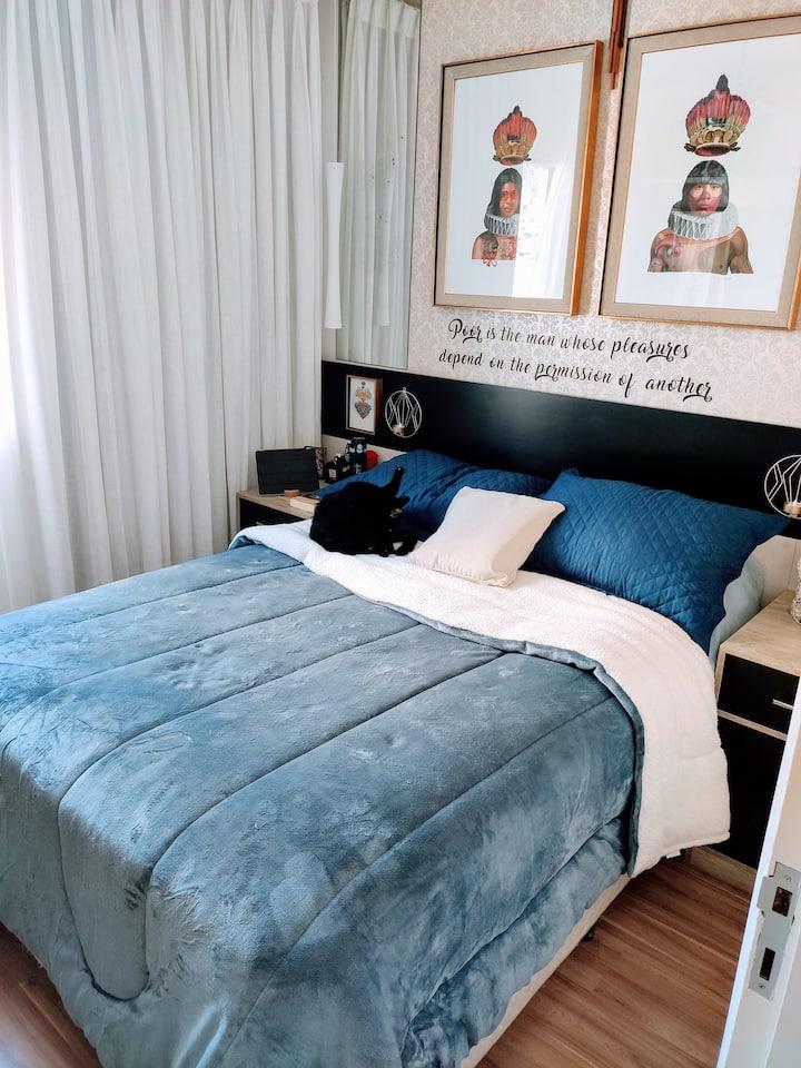 Modern Room for COUPLE - Alto da Lapa/SP