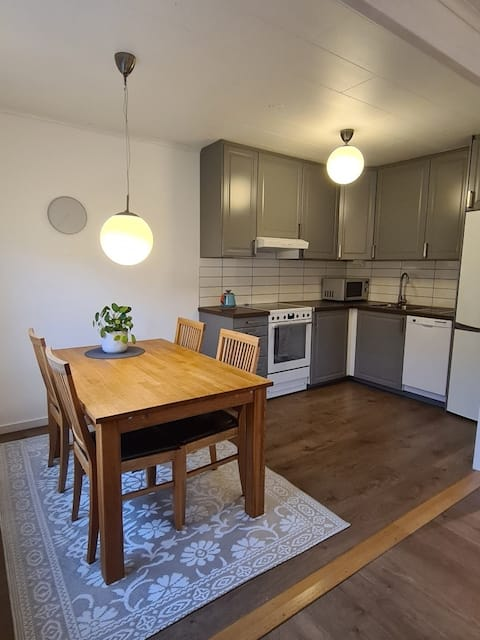 Fully equipped apartment with 2 room and kitchen.