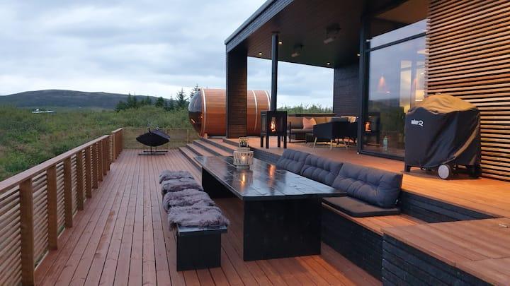 New modern Luxury Villa South Iceland