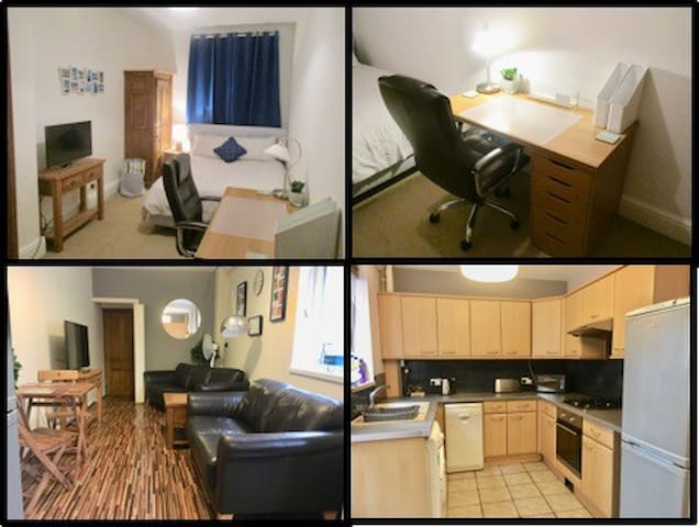 Quiet & Central Double £115/week