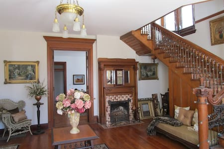 Historic home by the Mississippi River