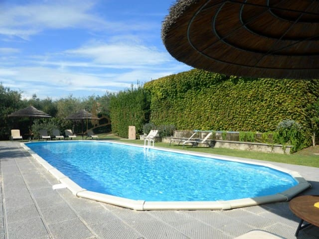 Brigidino with pool & tennis court - Lamporecchio - House