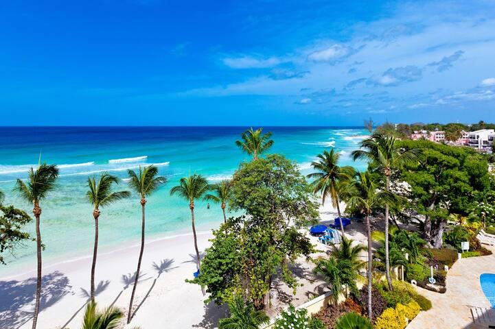 Sapphire Beach 517 - Tropical Oceanfront Penthouse