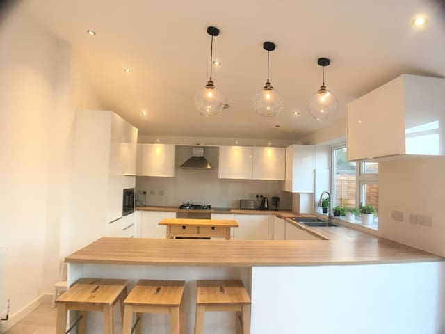 Contemporary single room modern kitchen free parki