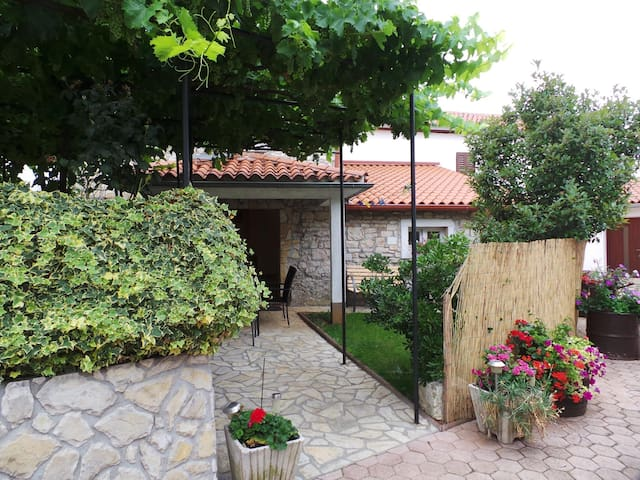House for 2+2 pers with WLAN in Nedešćina R52303