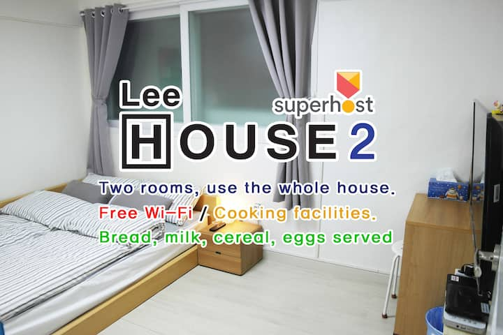 Lee House_2 - cozy&clean, 2Room, Nokbon Sta(5min)