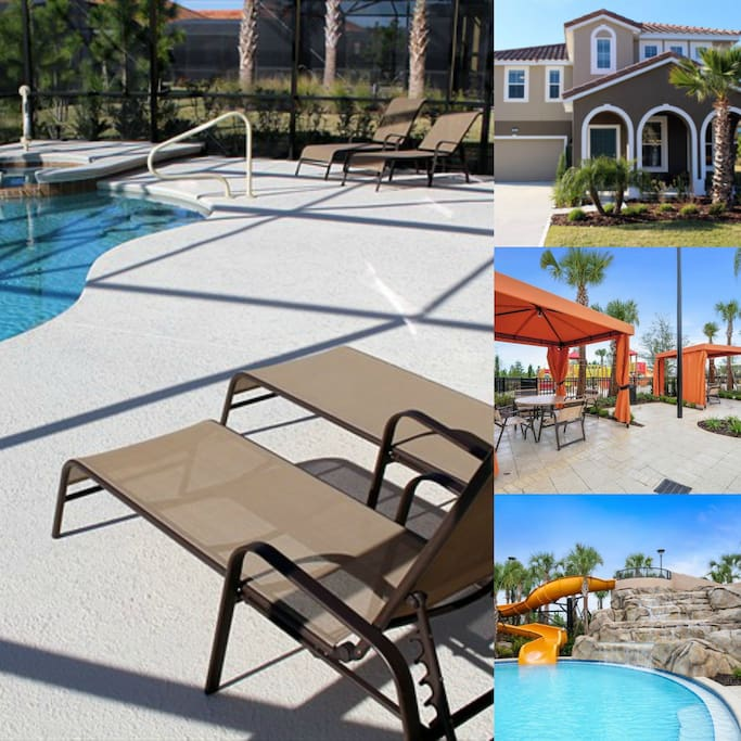 Private resort home with many amenities!