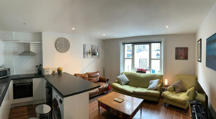 Large newly renovated basement flat.