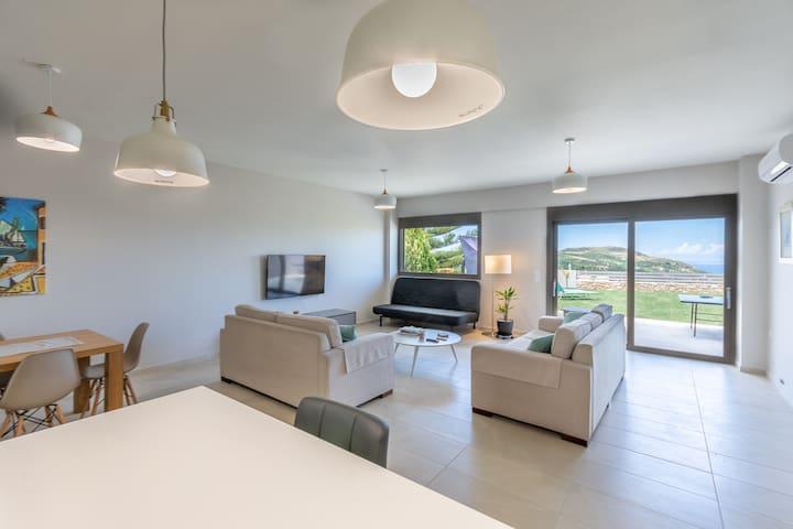 Sea Forever modern home in Skalani Heraklion