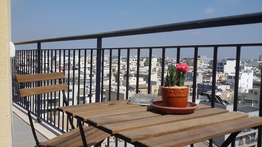 Amazing view @ TLV Florentine border Neve Tzedek - Tel Aviv-Yafo - Apartment