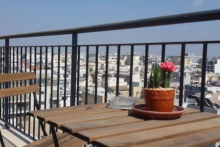 Amazing view @ TLV Florentine border Neve Tzedek - 特拉维夫-雅法 - 公寓