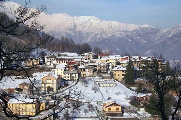 Casa in montagna, splendida vista!Vicino le piste!