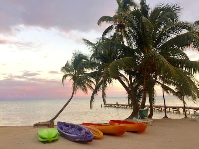 Sleeps 5 - Best beachfront on the island!