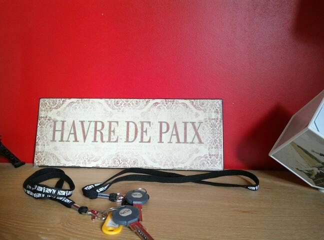 HAVRE DE PAIX  proche de Guérande.