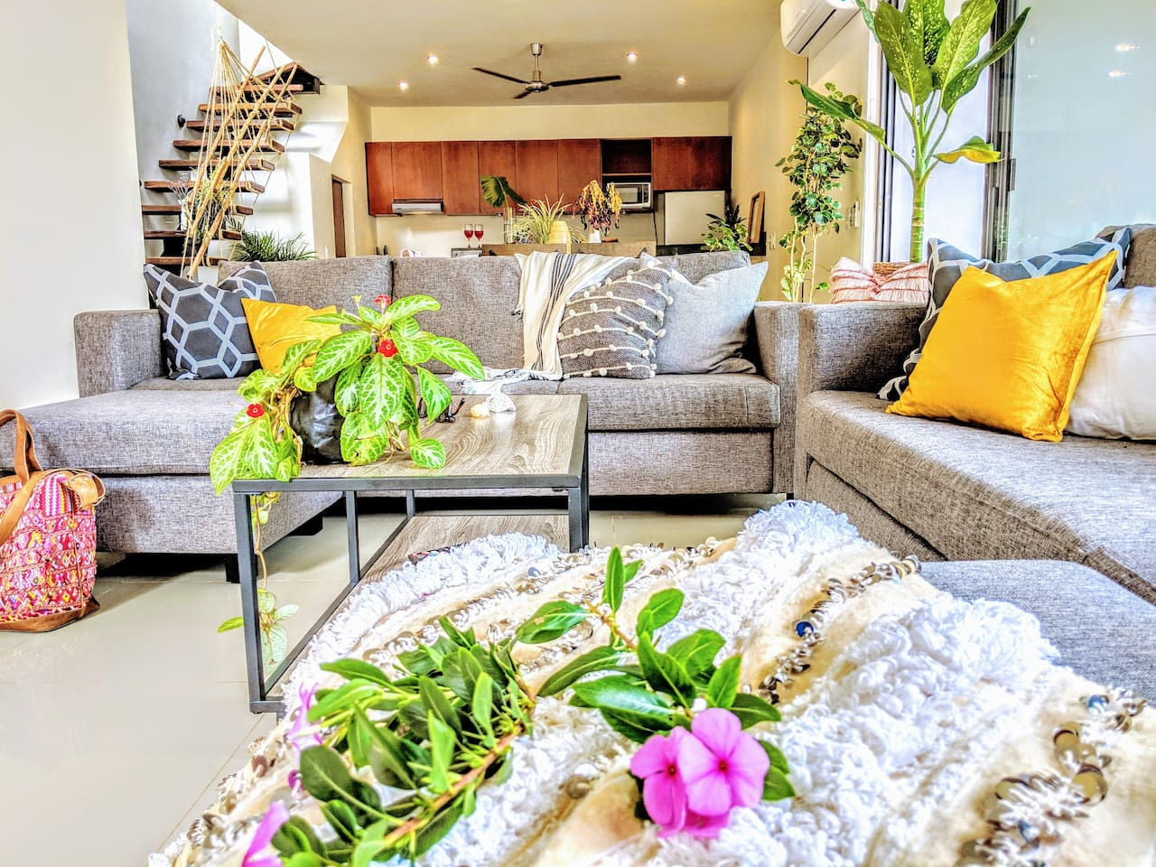Welcome home to your modern house in the jungle!