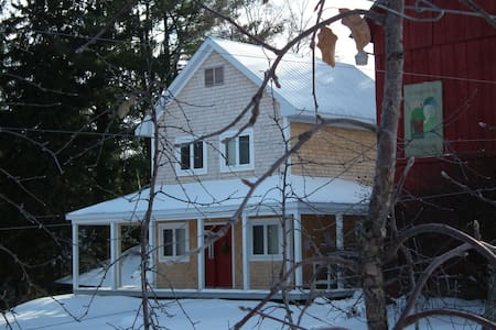 Cozy Little Orchard House in Dunham - Dunham - Ev
