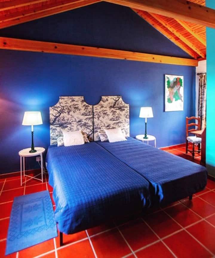 Quarto Azul - Casa do Capitão Faial