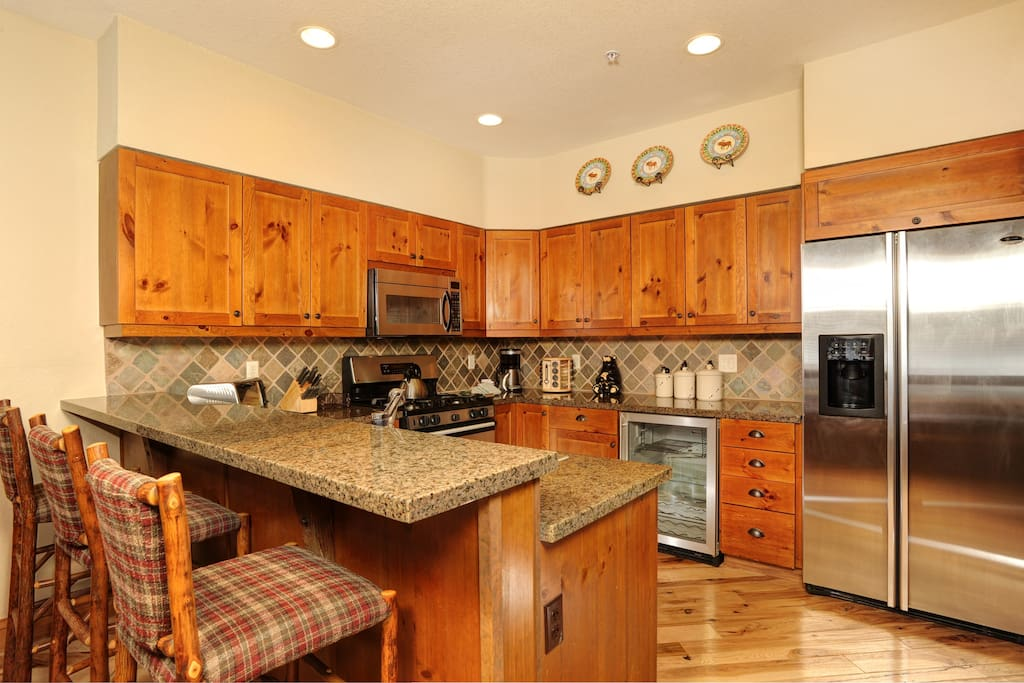 Prepare meals in the comfort of your very own fully-equipped, updated kitchen.