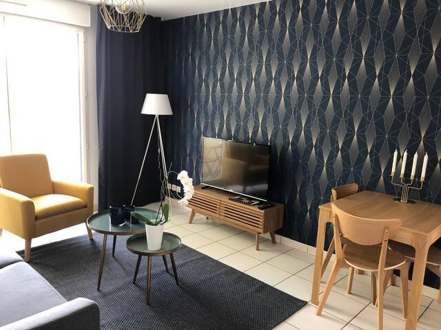 Appartement contemporain au cœur de Tours