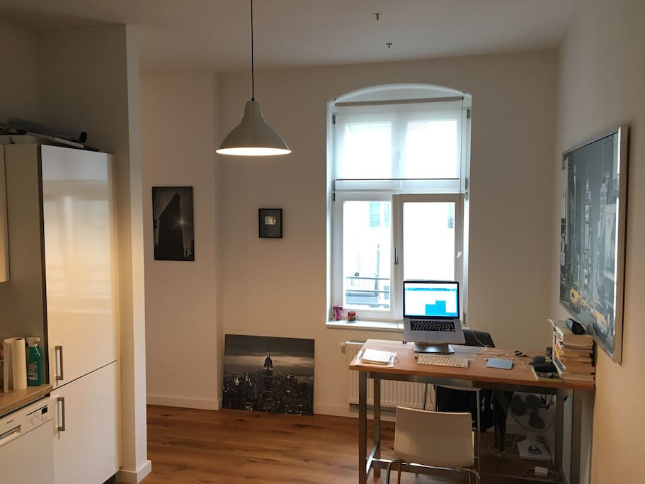 Kitchen + workspace